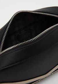 KARL LAGERFELD - MAU CAMERA BAG - Across body bag - black - 5