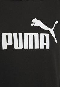 Puma - ELONGATED LOGO HOODIE - Sweatshirt - black - 6