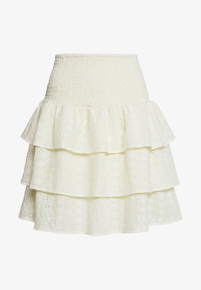YASSOFIA SHORT SKIRT - Mini skirt - seedpearl