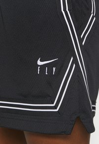Nike Performance - FLY CROSSOVER SHORT - Sports shorts - black/white - 7
