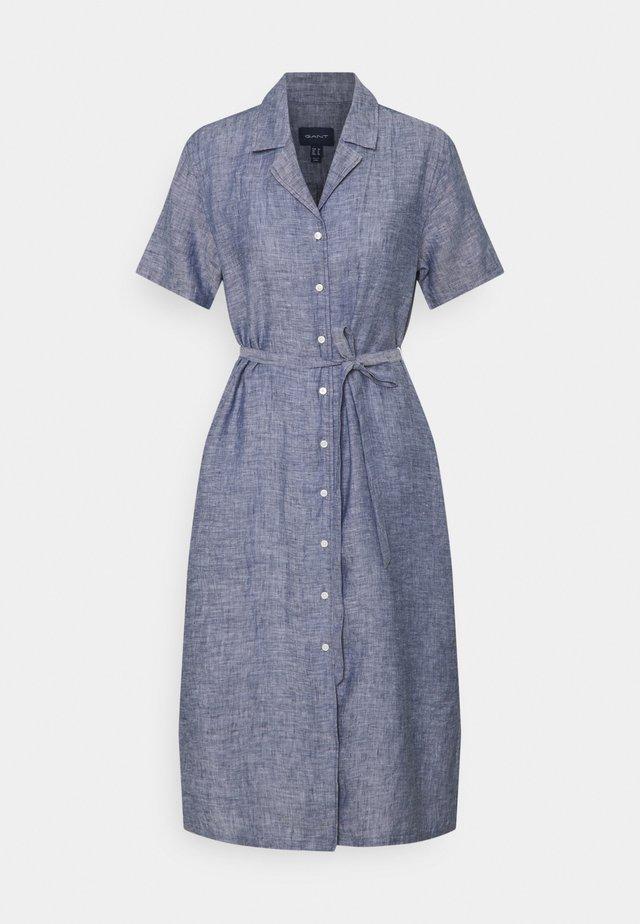 SHIRT DRESS - Shirt dress - persian blue