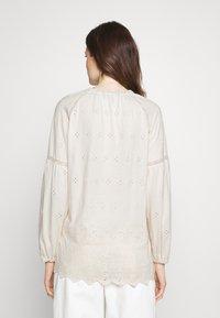 Lauren Ralph Lauren - UPTOWN - Long sleeved top - mascarpone cream - 2