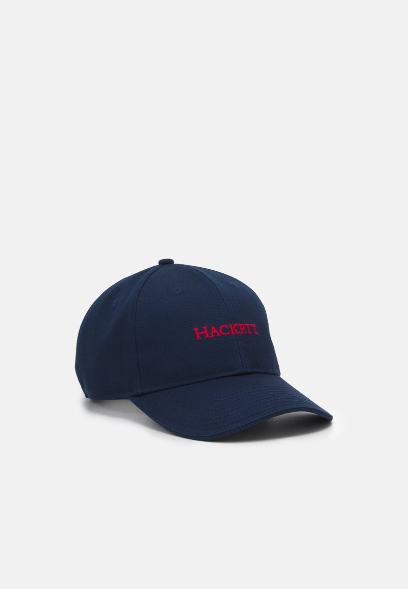 Hackett London - CLASSIC - Casquette - navy/red