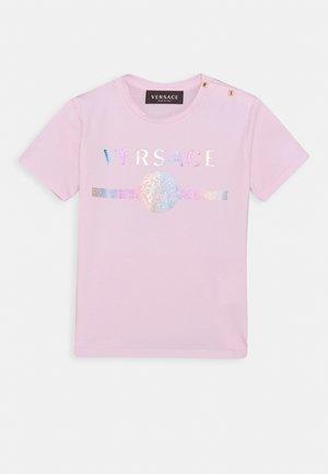 MAGLIETTA MANICA CORTA UNISEX - Print T-shirt - rose