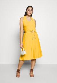 Ragwear Plus - MILIE PLUS - Žerzejové šaty - yellow - 1