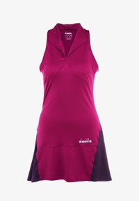 Diadora - DRESS CLAY - Sportovní šaty - violet boysenberry - 4