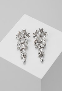 Pieces - PCMARLO EARRINGS KEY - Pendientes - silver-coloured - 0