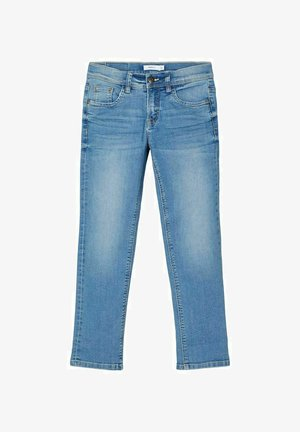 REGULAR FIT - Straight leg jeans - light blue denim