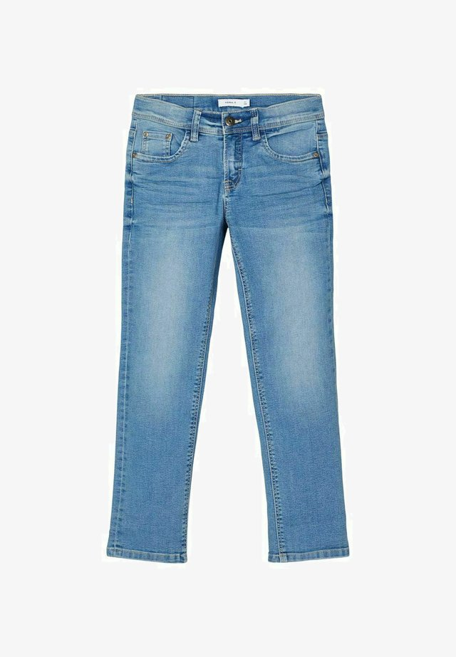REGULAR FIT - Straight leg jeans - light blue denim