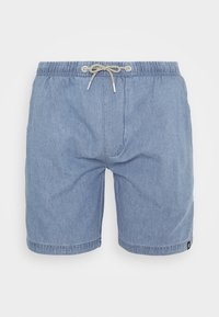 INDICODE JEANS - DRUMMONDVILLE - Denim shorts - mid indigo - 4