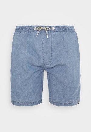DRUMMONDVILLE - Denim shorts - mid indigo