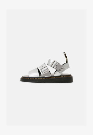 GRYPHON STRAP UNISEX - Mules - silver