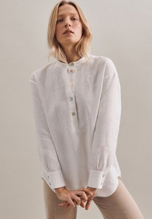 Long sleeved top - weiss