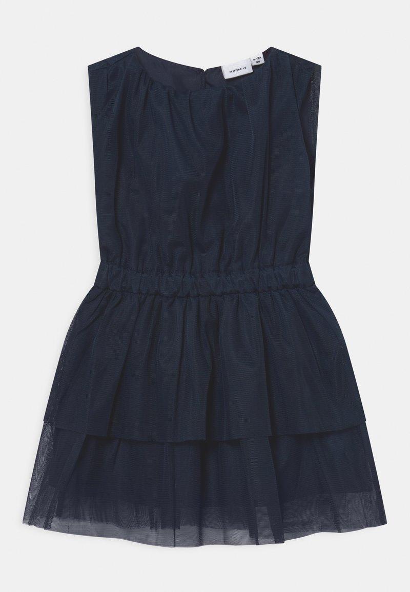 Name it - NKFOALA DRESS - Cocktail dress / Party dress - dark sapphire
