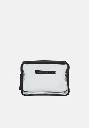 LIQUIDS BAG UNISEX - Wash bag - black