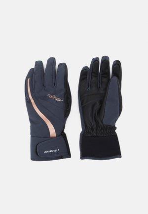 LADY GLOVE - Gloves - gray ink