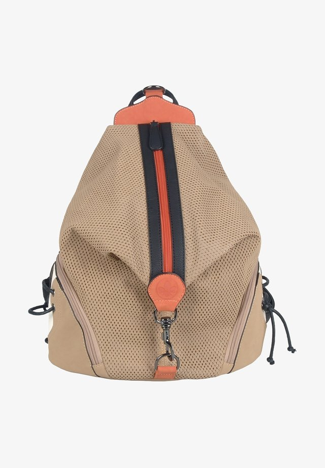 Rucksack - powder black orange