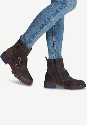 Ankle boots - asphalt