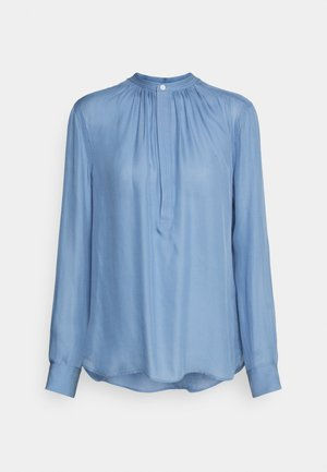 IDA LONG SLEEVE - Bluser - lake blue