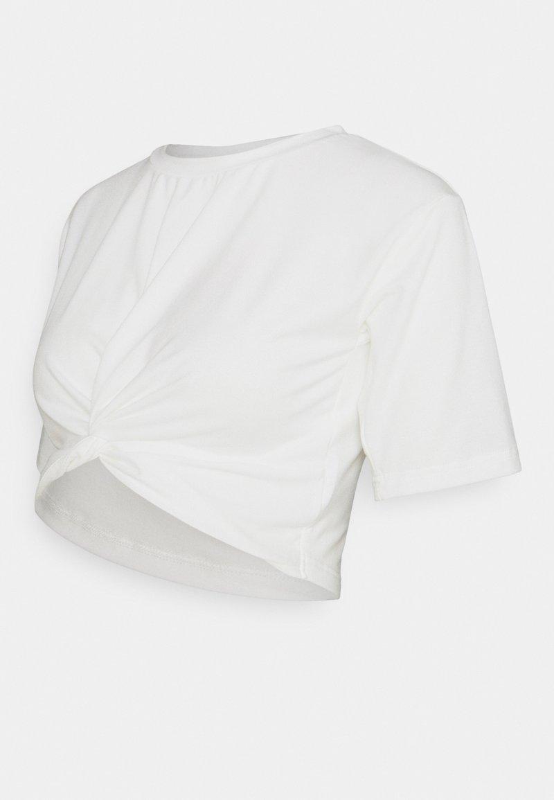 MAMALICIOUS - MLFELICITY  - Print T-shirt - snow white