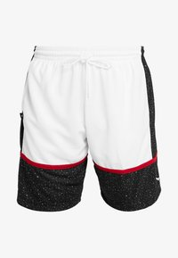 Jordan - JUMPMAN GRAPHIC SHORT - Korte sportsbukser - black/white/gym red - 5