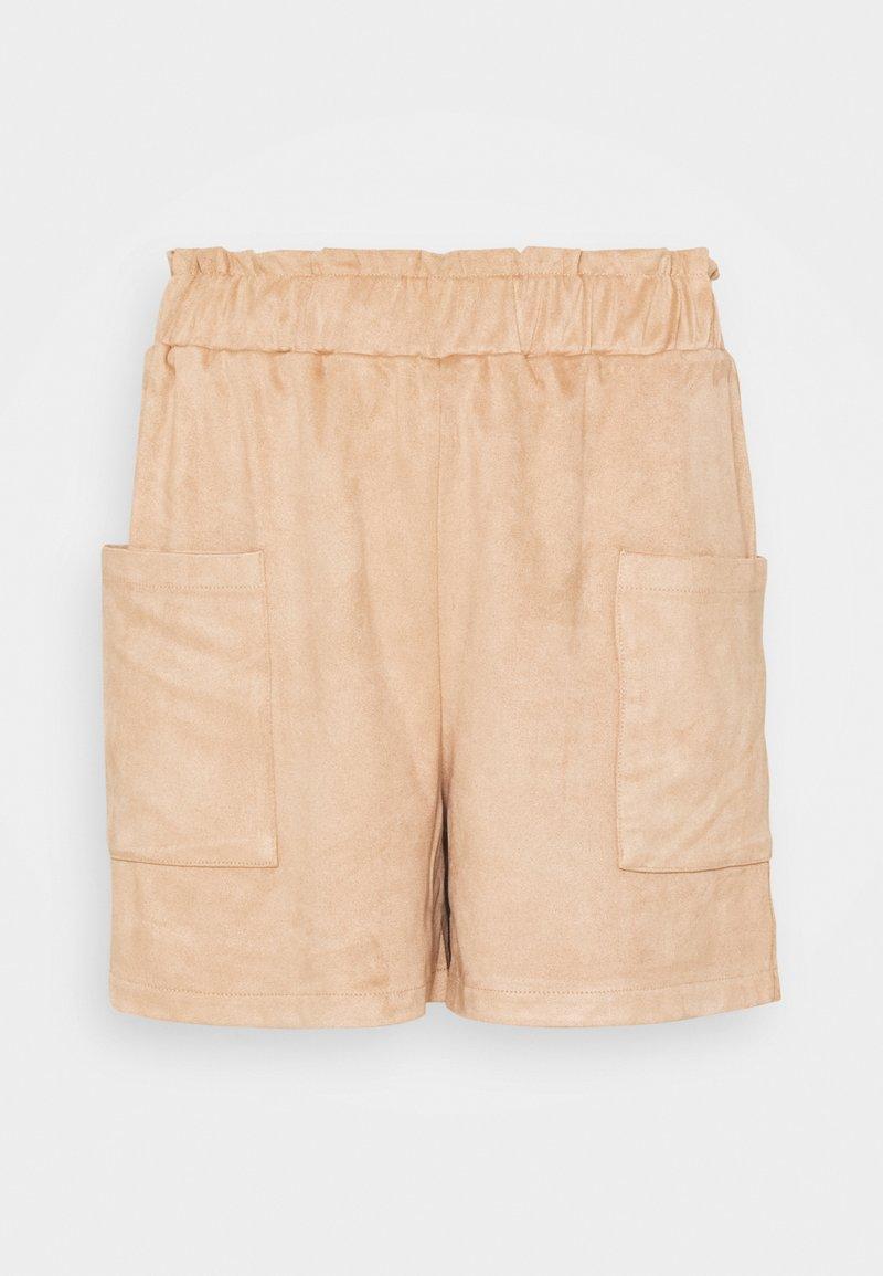 Noisy May - NMUVA SHORTS - Shorts - praline