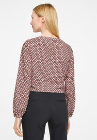 comma - Blouse - red graphic minimal - 2