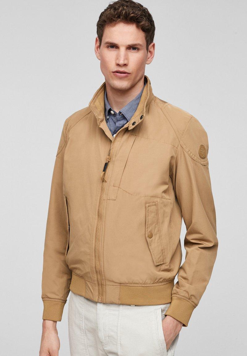 s.Oliver - Light jacket - brown