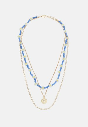 PCJADA COMBI NECKLACE - Necklace - gold-coloured