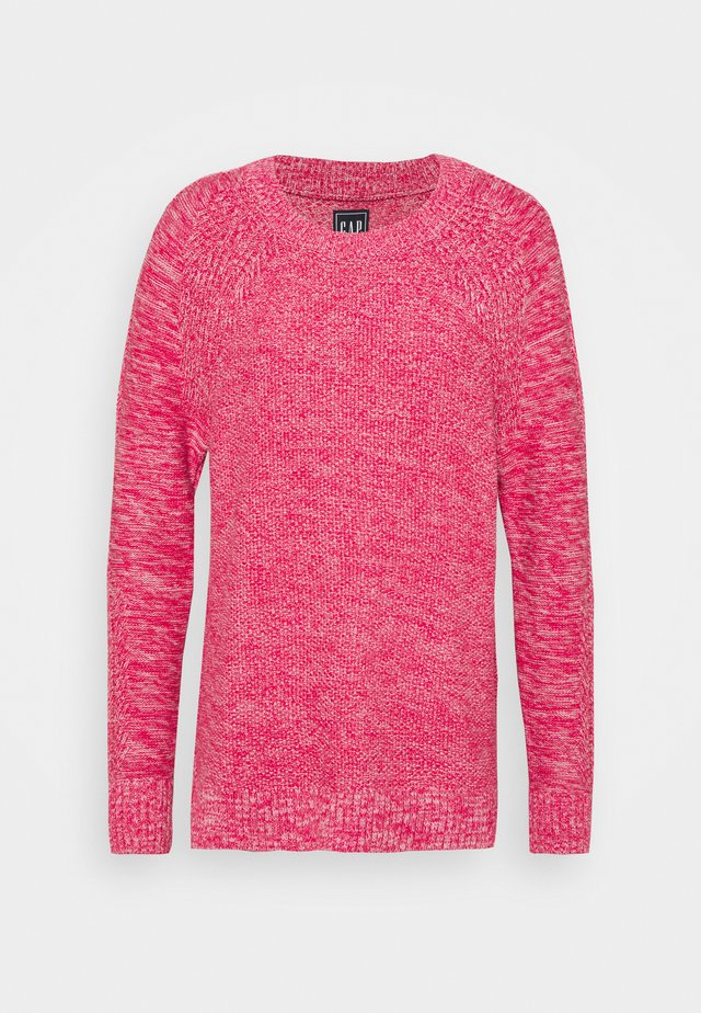 TEXTURED CREW - Stickad tröja - misty rose
