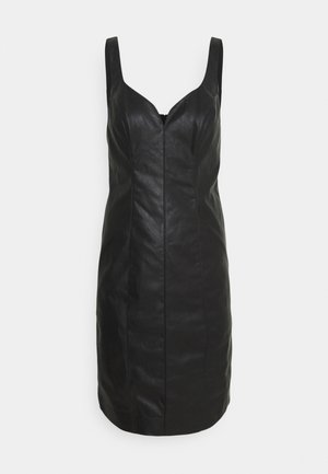 PUDICO ABITO SIMILPELLE - Cocktail dress / Party dress - black
