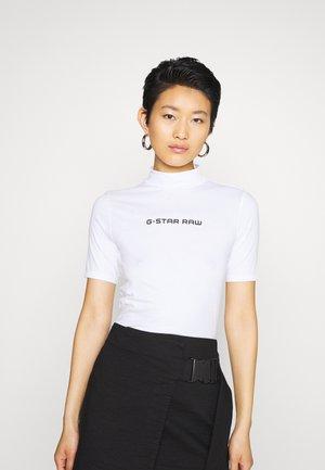 FUNNEL - Print T-shirt - white