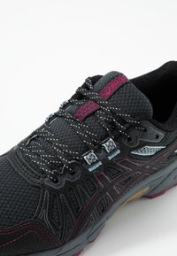 ASICS - GEL-VENTURE 7 - Løbesko trail - graphite grey/dried berry - 5