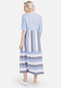 HELMIDGE - Day dress - weiss hellblau - 1