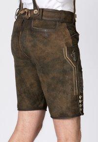 Stockerpoint - BEPPO - Shorts - brown/light brown - 4