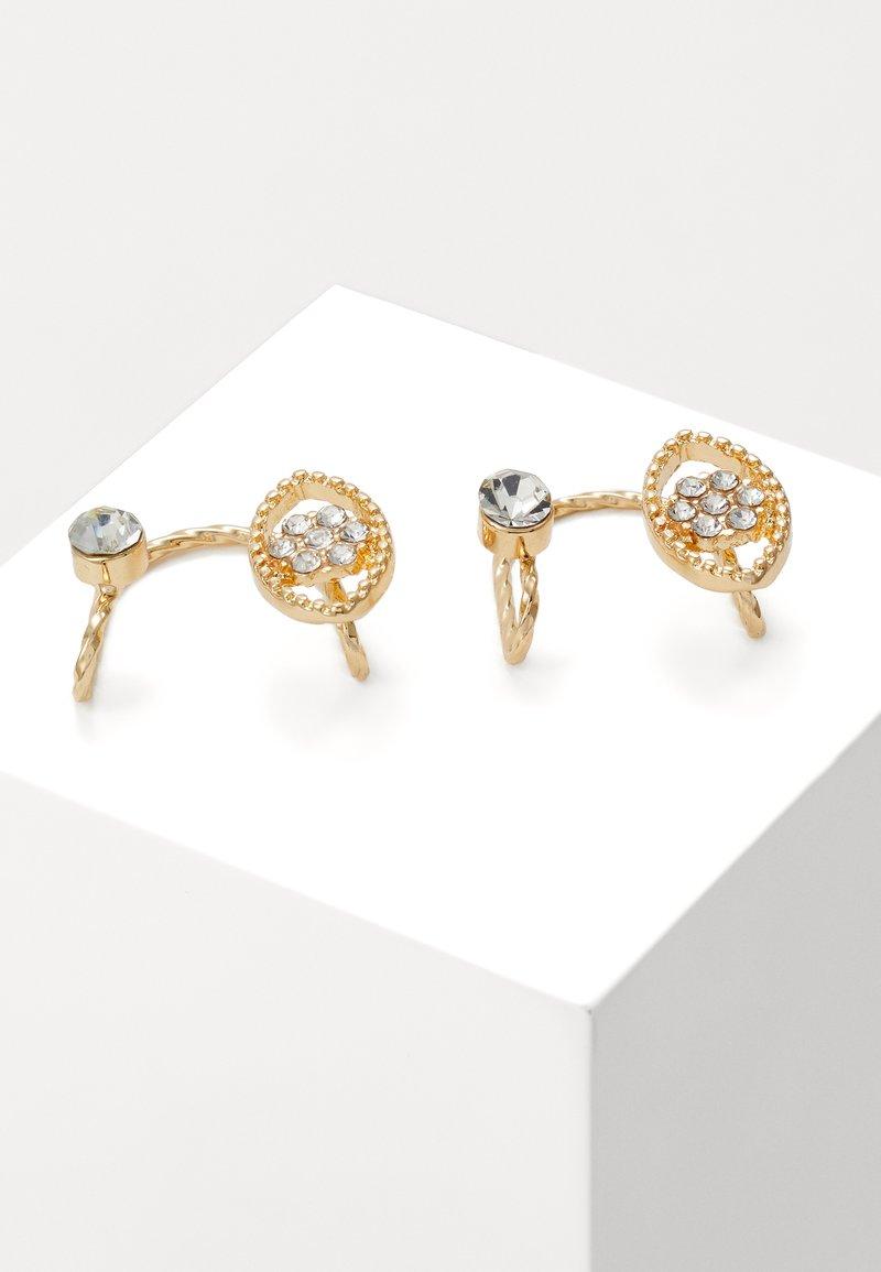sweet deluxe - EVIL EYE CUFF - Earrings - gold-coloured