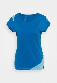 La Sportiva - CHIMNEY  - T-shirt con stampa - neptune/pacific blue - 3