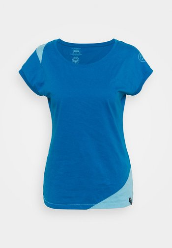 CHIMNEY  - T-shirt con stampa - neptune/pacific blue