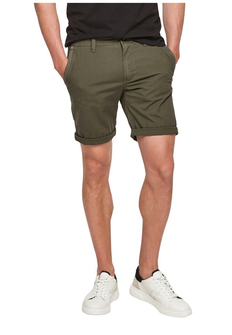 s.Oliver - Shorts - olive