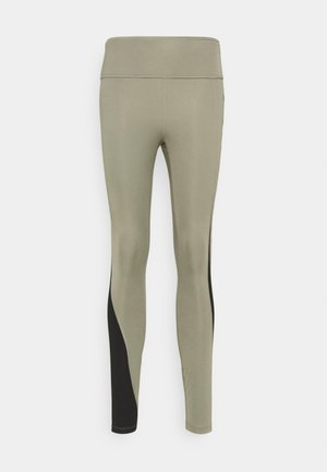 AIR EPIC FAST - Leggings - light army/black