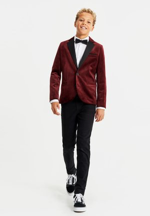 blazer - burgundy red