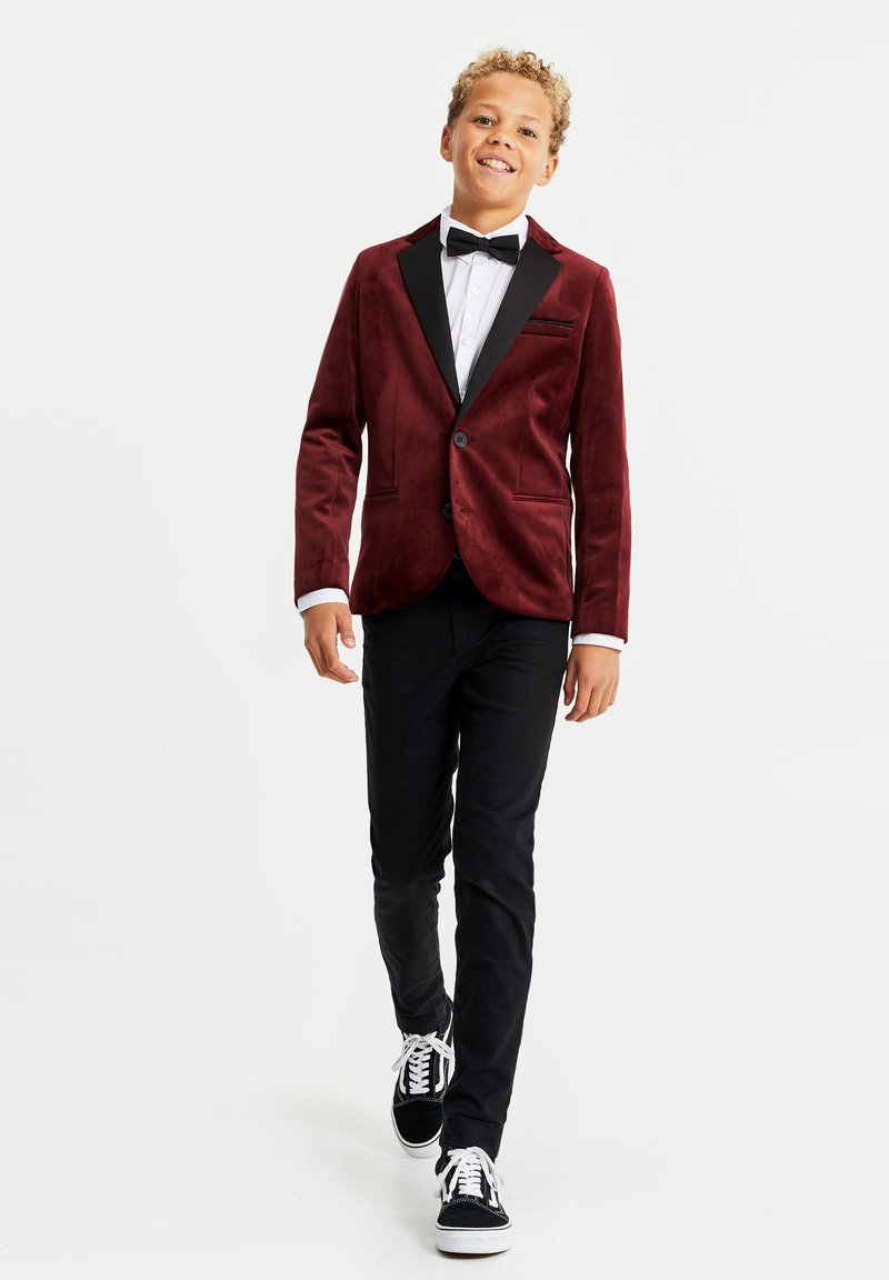 WE Fashion - Giacca - burgundy red