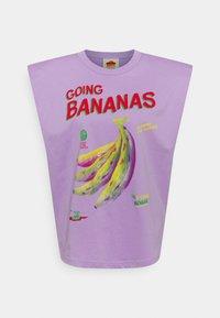 GOING BANANAS GRAPHIC - Print T-shirt - lilac