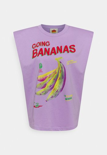 GOING BANANAS GRAPHIC - T-shirt con stampa - lilac