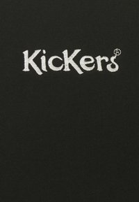 Kickers Classics - SLEEVE PANEL LONGSLEEVE RINGER - Maglietta a manica lunga - black/brown - 2