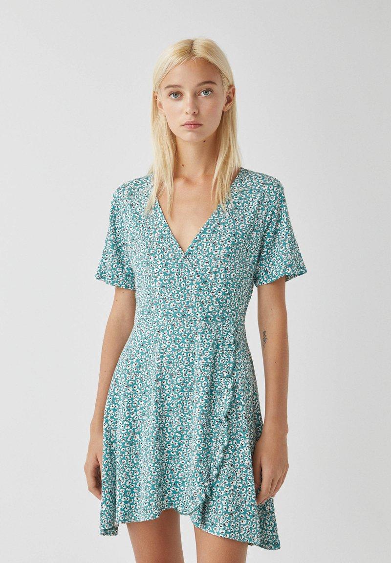 PULL&BEAR - Day dress - green