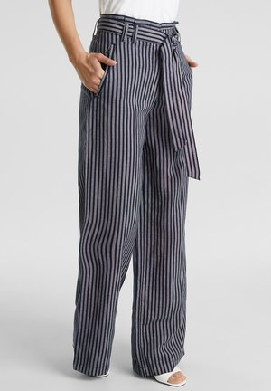 PAPERBAG  - Trousers - navy