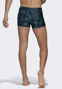 adidas Performance - FESTIWILD - Swimming trunks - blue - 1