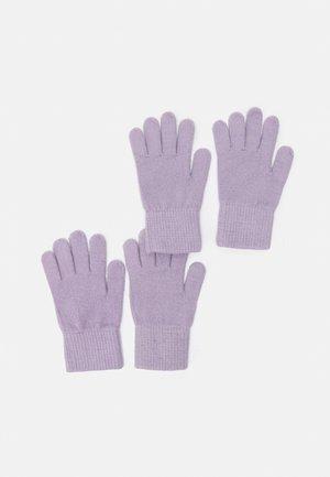 2 PACK UNISEX - Handschoenen - purple