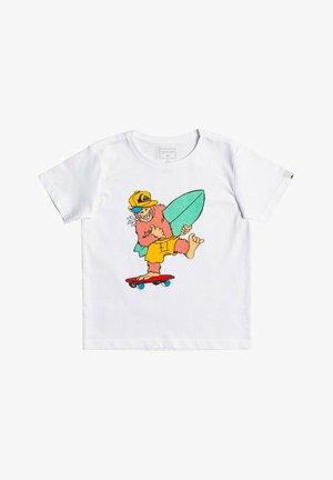 TRUST THE SUN - Print T-shirt - white